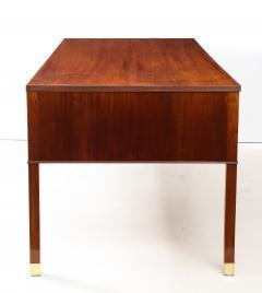 Ole Wanscher Ole Wanscher Mahogany Desk Circa 1950s Produced by A J Iversens  - 1690212