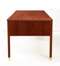 Ole Wanscher Ole Wanscher Mahogany Desk Circa 1950s Produced by A J Iversens  - 1690213