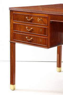 Ole Wanscher Ole Wanscher Mahogany Desk Circa 1950s Produced by A J Iversens  - 1690218
