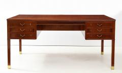 Ole Wanscher Ole Wanscher Mahogany Desk Circa 1950s Produced by A J Iversens  - 1690220
