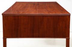 Ole Wanscher Ole Wanscher Mahogany Desk Circa 1950s Produced by A J Iversens  - 1690221