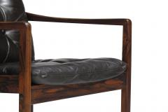 Ole Wanscher Ole Wanscher Rosewood Lounge Chairs in Original Leather - 1076718
