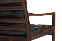 Ole Wanscher Ole Wanscher Rosewood Lounge Chairs in Original Leather - 1076719