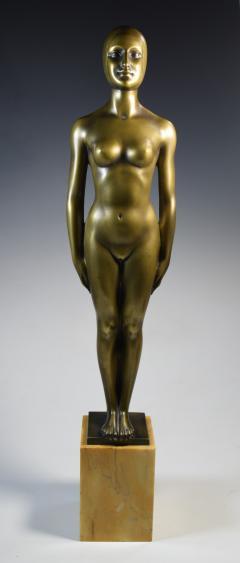 Olympic Female Swimmer Art Deco WPA Social Realism - 1392987