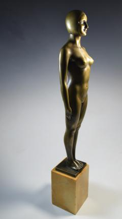 Olympic Female Swimmer Art Deco WPA Social Realism - 1392989