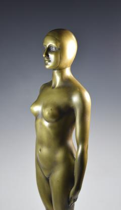 Olympic Female Swimmer Art Deco WPA Social Realism - 1392991