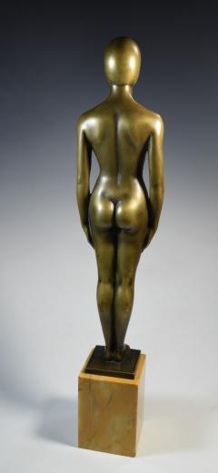 Olympic Female Swimmer Art Deco WPA Social Realism - 1392992