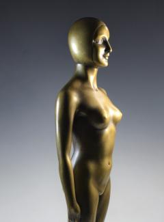 Olympic Female Swimmer Art Deco WPA Social Realism - 1392994