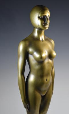 Olympic Female Swimmer Art Deco WPA Social Realism - 1392997