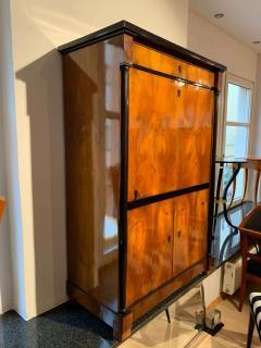 One Doored Biedermeier Armoire Walnut and Ash Veneer Austria circa 1820 - 1730214