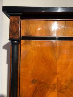 One Doored Biedermeier Armoire Walnut and Ash Veneer Austria circa 1820 - 1730240