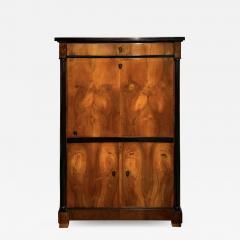 One Doored Biedermeier Armoire Walnut and Ash Veneer Austria circa 1820 - 1734874
