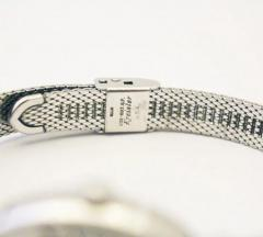 One of a Kind Omega Collectible 14KT White Gold Diamond Vintage Wristwatch - 1706907