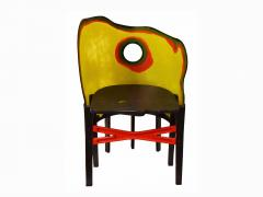 Open SKy Crosby Chair by Gaetano PEsce NYC 1990s - 938203