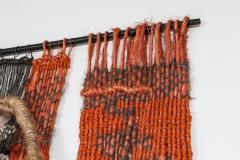Opie Boel Tapestry two worlds by Opie Boel Belgium 1970s - 1585494