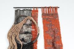 Opie Boel Tapestry two worlds by Opie Boel Belgium 1970s - 1585500