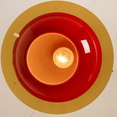 Organic Hand Blown 1 Glass Boule Light Fixture Made to Order - 1039216