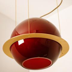 Organic Hand Blown 1 Glass Boule Light Fixture Made to Order - 1039217