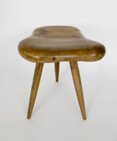 Organic Modern French Oak Stool or Side Table - 1220516