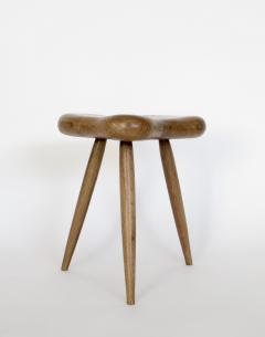 Organic Modern French Oak Stool or Side Table - 1220518
