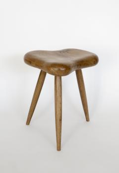Organic Modern French Oak Stool or Side Table - 1220519