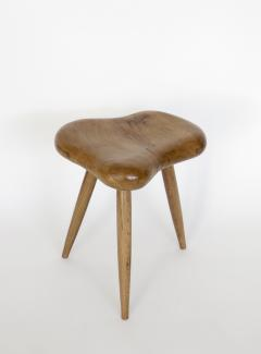 Organic Modern French Oak Stool or Side Table - 1220520