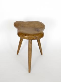 Organic Modern French Oak Stool or Side Table - 1220521