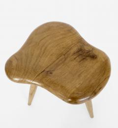 Organic Modern French Oak Stool or Side Table - 1220523