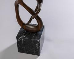 Organic Shaped Abstract Wood Sculpture France 1950s - 1955942