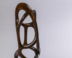 Organic Shaped Abstract Wood Sculpture France 1950s - 1955944