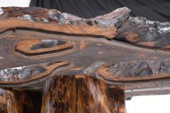 Organic Walnut Tree Trunk Freeform Table - 1988072