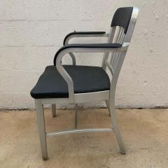 Original Aluminum and Perforated Vinyl Emeco Navy Desk or Armchair 1965 - 1624521