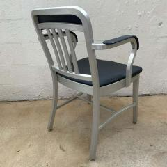 Original Aluminum and Perforated Vinyl Emeco Navy Desk or Armchair 1965 - 1624528