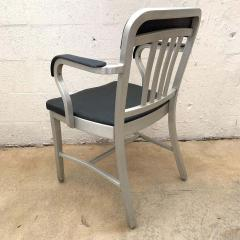 Original Aluminum and Perforated Vinyl Emeco Navy Desk or Armchair 1965 - 1624532