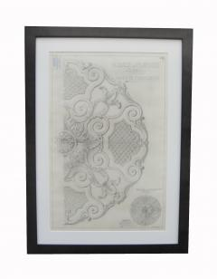 Original Jansen Architectural Pencil Drawing - 1045633