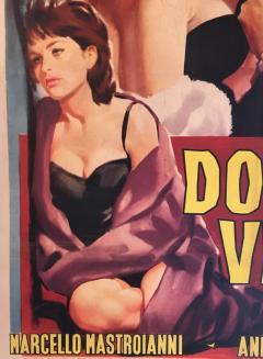 Original La Dolce Vita Film Poster 1960 - 290406