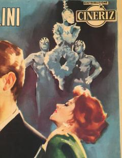 Original La Dolce Vita Film Poster 1960 - 290407