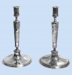 Orivit Jugendstil Secessionist Candlesticks Germany C 1900 - 2090559
