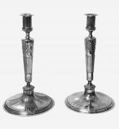 Orivit Jugendstil Secessionist Candlesticks Germany C 1900 - 2090560