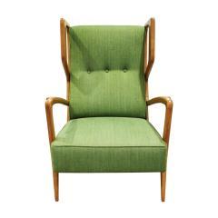 Orlando Orlandi Orlando Orlandi Attributed Pair of High Back Lounge Chairs 1950s - 1164004