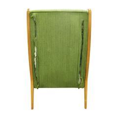 Orlando Orlandi Orlando Orlandi Attributed Pair of High Back Lounge Chairs 1950s - 1164006