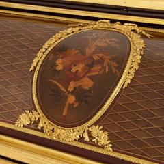 Ormolu mounted marquetry roll top desk attributed to Bernard - 1569773