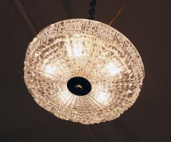Orrefors Flush Mount Crystal Ceiling Fixture - 1638366