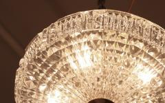Orrefors Flush Mount Crystal Ceiling Fixture - 1638367