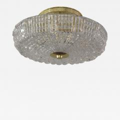 Orrefors Flush Mount Crystal Ceiling Fixture - 1638485