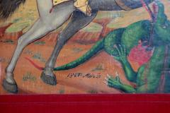 Orthodox Icon St George and the Dragon - 1986037