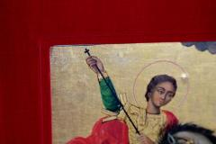 Orthodox Icon St George and the Dragon - 1986041