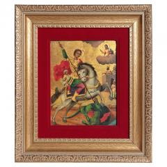 Orthodox Icon St George and the Dragon - 2143217