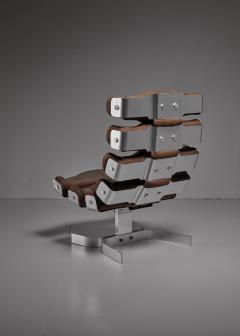 Oscar Niemeyer Oscar Niemeyer and Pierre Vandel Vertebre chair France 1970s - 801097