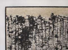 Oscar Piatella Oscar Piatella Abstract Oil Painting on Canvas La Lunga Strada 1958 - 2108391